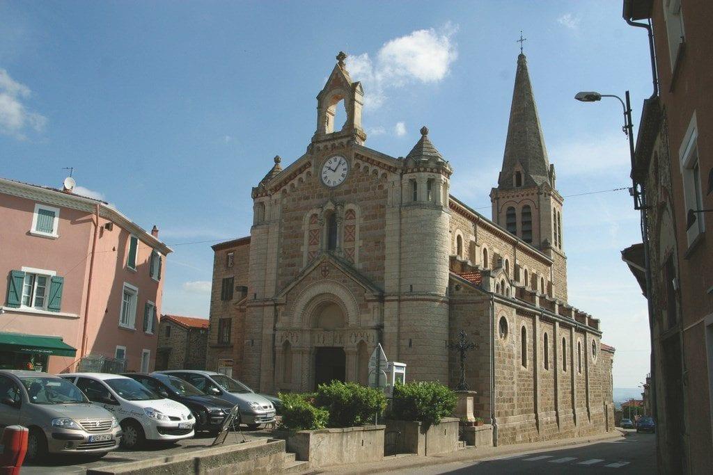 Maclas - Eglise St Romain et St Clair (Copier)